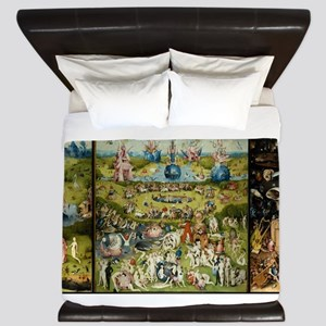 Hieronymus Bosch Garden Of Earthly Deli King Duvet