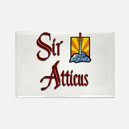 Sir Atticus Rectangle Magnet (10 pack)