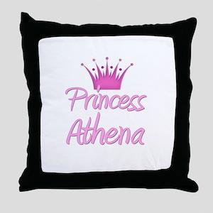 Princess Athena Throw Pillow