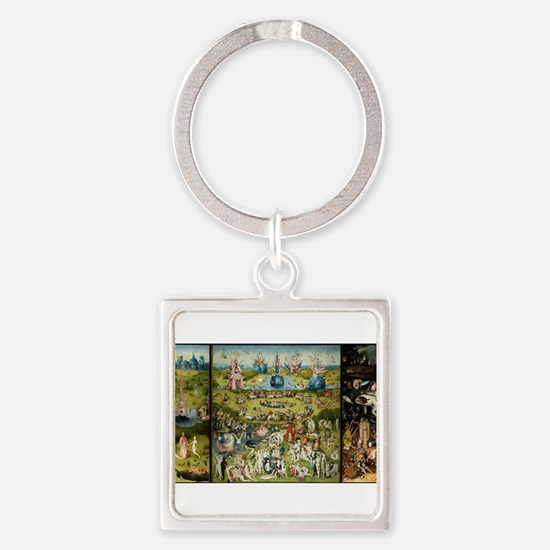 Hieronymus Bosch Garden Of Earthly Delig Keychains