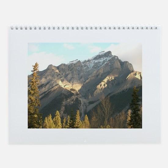 Canadian Rockies Wall Calendar