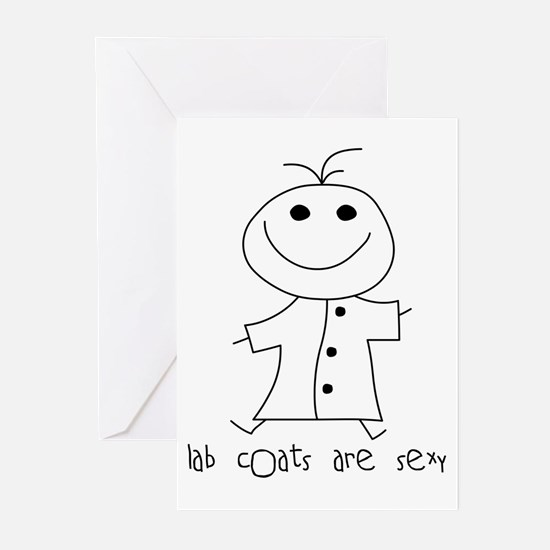 Lab Coats are Sexy Greeting Cards (Pk of 10)
