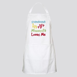 Someone in Minnesota Loves Me BBQ Apron