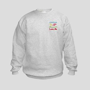 Someone in Minnesota Loves Me Kids Sweatshirt