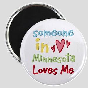 Someone in Minnesota Loves Me Magnet