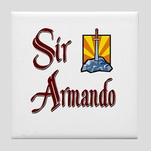 Sir Armando Tile Coaster