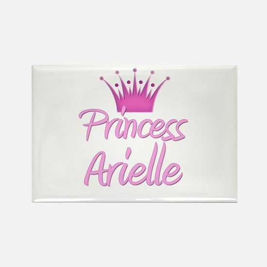 Princess Arielle Rectangle Magnet