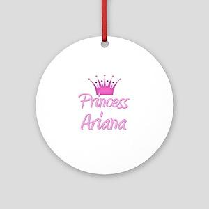 Princess Ariana Ornament (Round)