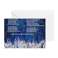 Lakota Instructions for Livin Greeting Cards (Pack