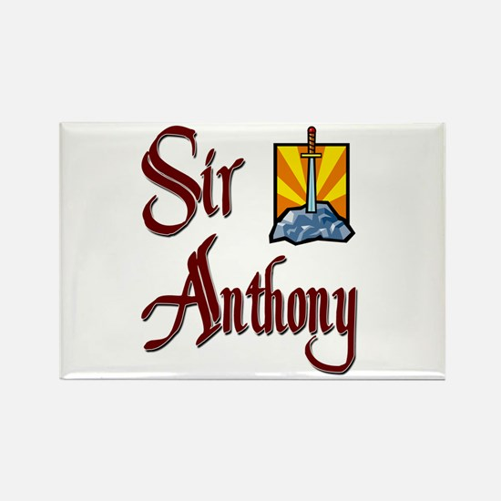 Sir Anthony Rectangle Magnet (10 pack)