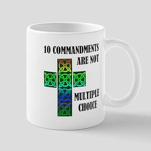 TEN COMMANDMENTS Mug