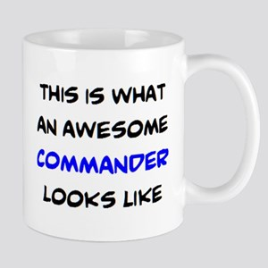 awesome commander 11 oz Ceramic Mug