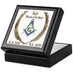 Mason of the Year custom Keepsake Box