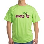 Palms over Albany - Green T-Shirt