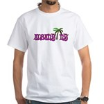 Palms over Albany - White T-Shirt