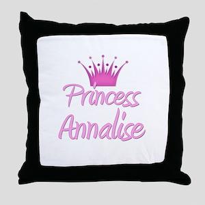 Princess Annalise Throw Pillow