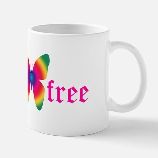 gluten-free butterfly Mug