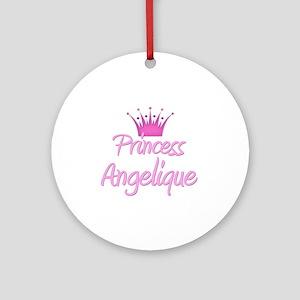 Princess Angelique Ornament (Round)