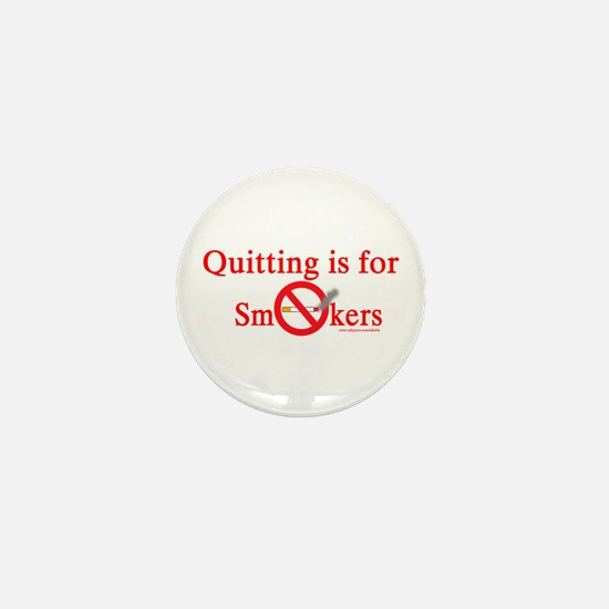 Quit Smoking Mini Button