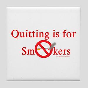 Quit Smoking Tile Coaster