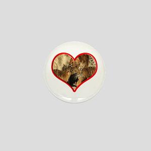 Helaine's Tiger Mom's Love Mini Button