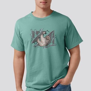 A Cute Wild Lazy Sloth Outdoors in A Jungl T-Shirt