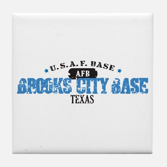 Brooks Air Force Base Tile Coaster