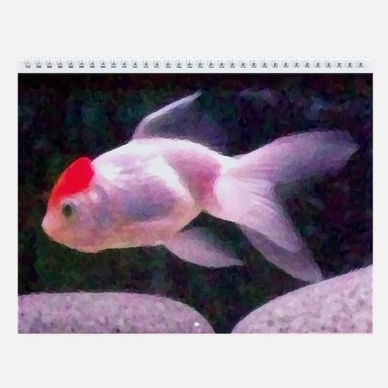 Goldfish Goods Wall Calendar