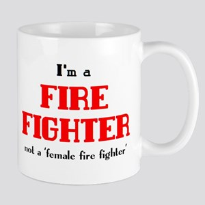 just fire fighter 11 oz Ceramic Mug