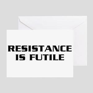 Resistance Greeting Card