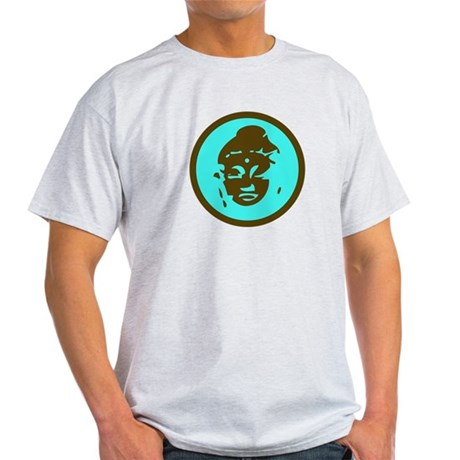 Blue Buddha Light T-Shirt
