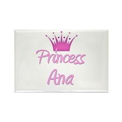 Princess Ana Rectangle Magnet