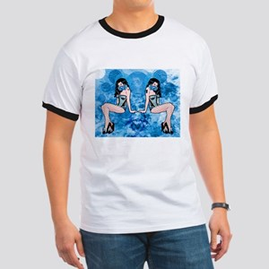 Blues Tattoos Product Line Ringer T