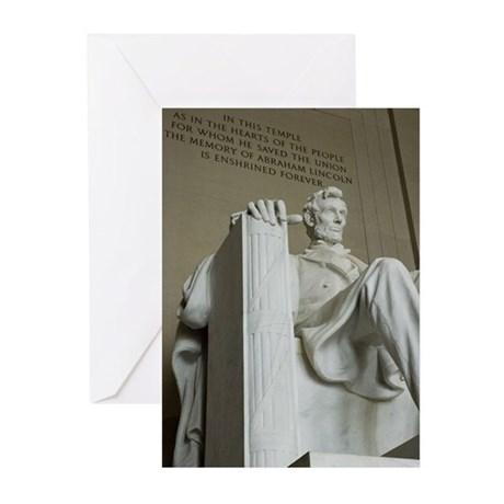 Abraham Lincoln Memorial Greeting Cards (Pk of 20)