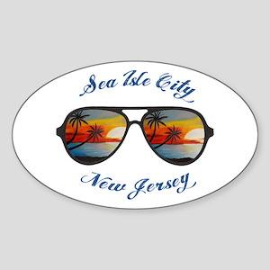 New Jersey - Sea Isle City Sticker