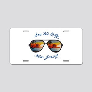 New Jersey - Sea Isle City Aluminum License Plate