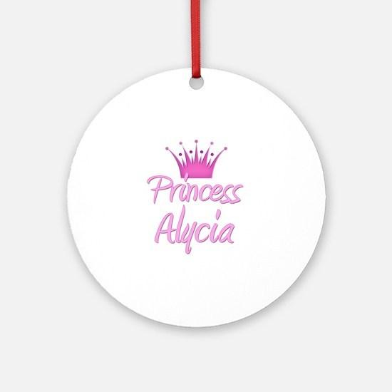 Princess Alycia Ornament (Round)