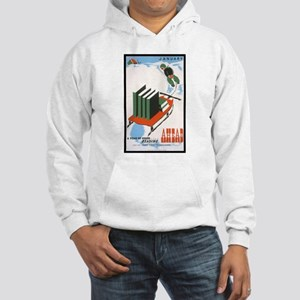 A Year of Good Reading Hooded Sweatshirt