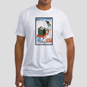 A Year of Good Reading Fitted T-Shirt