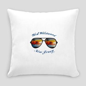 New Jersey - West Wildwood Everyday Pillow