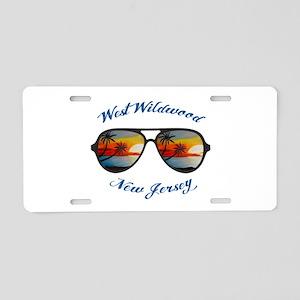 New Jersey - West Wildwood Aluminum License Plate
