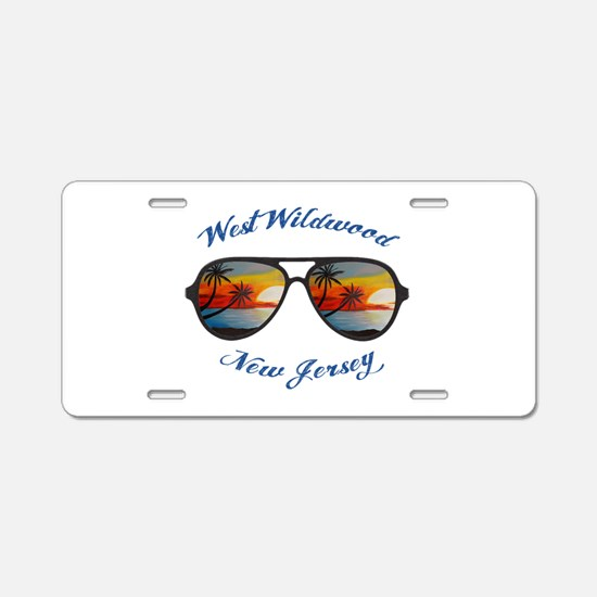 New Jersey - West Wildwood Aluminum License Plate