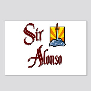 Sir Alonso Postcards (Package of 8)