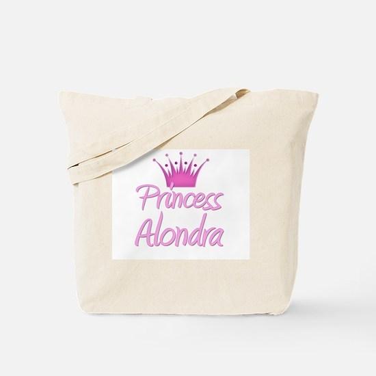 Princess Alondra Tote Bag