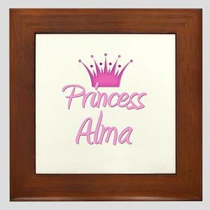Princess Alma Framed Tile