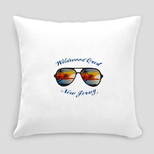 New Jersey - Wildwood Crest Everyday Pillow