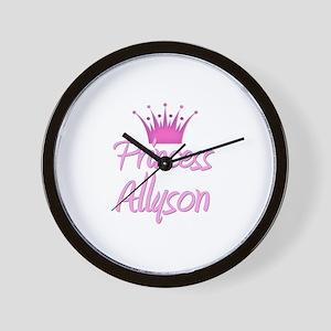 Princess Allyson Wall Clock