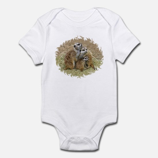 MEERKAT FAMILY LOVE Infant Bodysuit