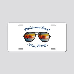 New Jersey - Wildwood Crest Aluminum License Plate