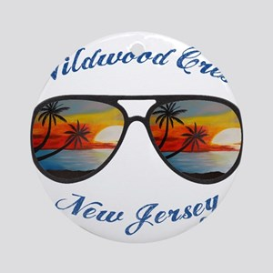 New Jersey - Wildwood Crest Round Ornament